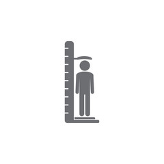 growth meter icon. Simple element illustration. growth meter symbol design template. Can be used for web and mobile