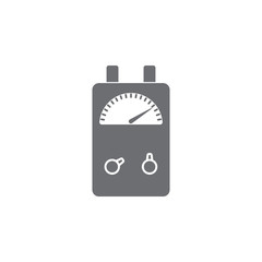 Voltage Ampere Meter tester icon. Simple element illustration. Voltage Ampere Meter tester symbol design template. Can be used for web and mobile