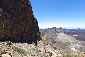 Teide Nationalpark - Guajara Kraterwand