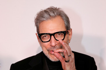 Cast member Jeff Goldblum arrives for a screening of 'Isle of Dogs' in New York