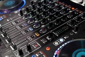 standalone dj player and dj mixer controller