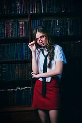 smart teen girl