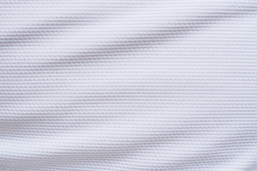 White football jersey clothing fabric texture sports wear background
