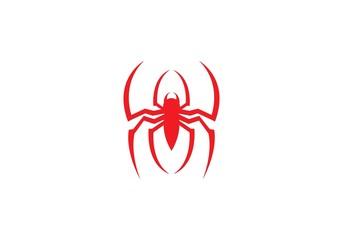 Spider logo template