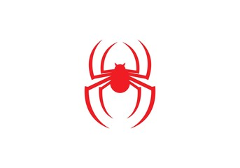 Spider logo template