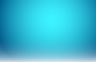 Abstract blurred blue gradient with lighting background.