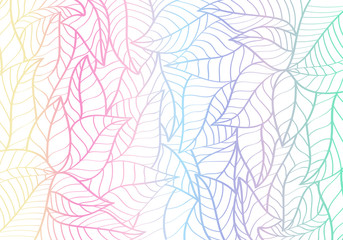 Natural Pattern,Abstract,Curve shape,Leaf Pastel colour Background