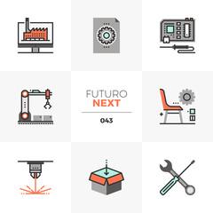Fabrication Lab Futuro Next Icons