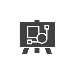 Artboard vector icon