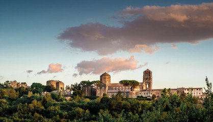 Casertavecchia. Ancient Italian medieval village. Caserta province, Campania, Italy.