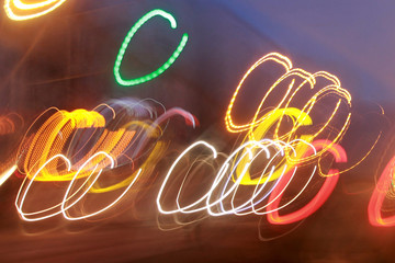 multicolored abstract photo lights for background