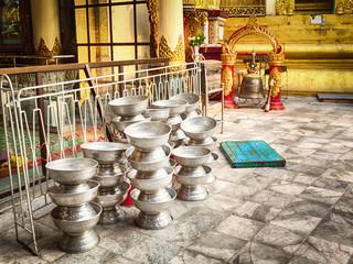 Details of Sule Pagoda in Yangon.