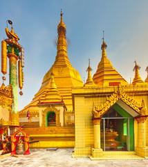 Sule Pagoda in Yangon.