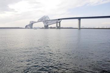 東京港臨海道路の東京ゲートブリッジ