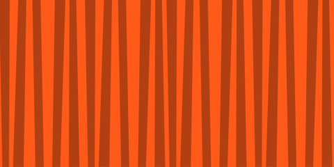 Abstract vertical striped orange and grey pattern.