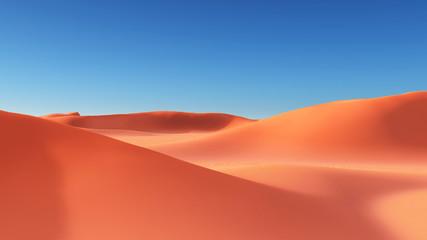 Wüstenpanorama mit Sanddünen