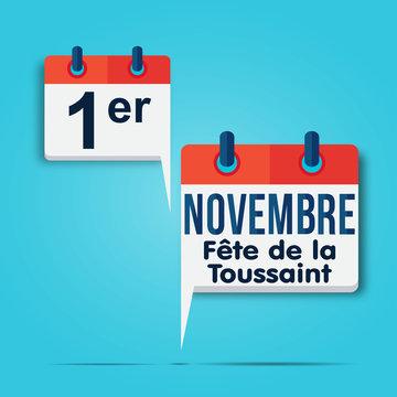 calendrier bulle : 1er novembre