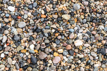 pebble stone texture, background