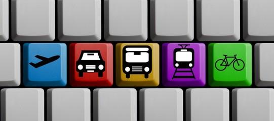 Das beste Verkehrsmittel online finden