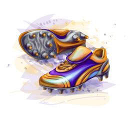football soccer boots