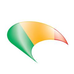 Mali flag. Vector