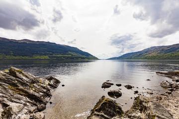 United Kingdom, Scotland, Luss, Loch Lomond and The Trossachs National Park, Loch Lomond