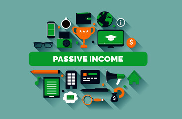 Passive Income Illustration