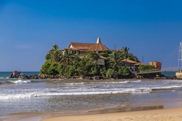 Paravi Duwa Temple in  Matara, Sri Lanka