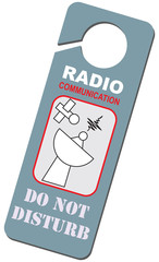 Radio communication is conducted