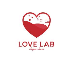 Love lab logo