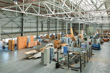 Nazareth,Israel-March 16,2018: Interior furniture factory