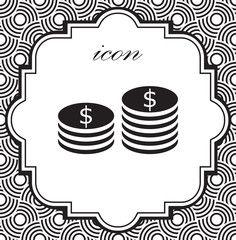 Vector icon money