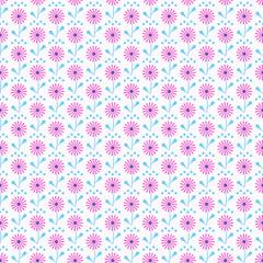 Pİnk flowers pattern