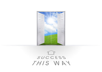 This Way Open Doorway - Success