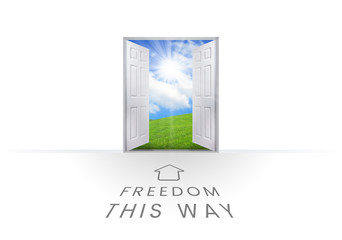 This Way Open Doorway - Freedom