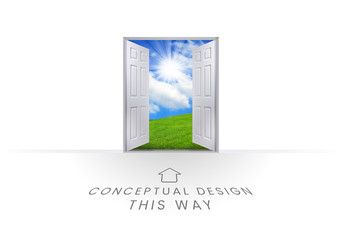This Way Open Doorway - Conceptual Design