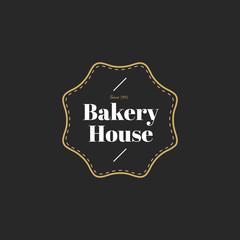 Illustration of bakery house