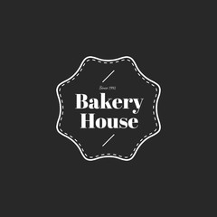 Illustration of bakery house