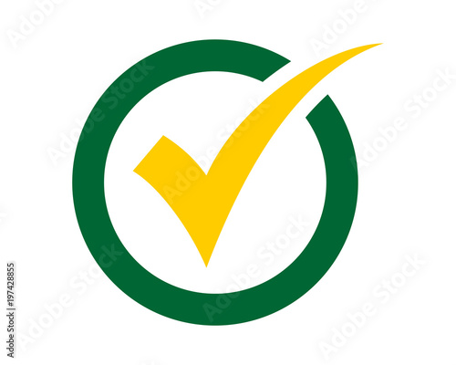 circle checklist sign shape image vector icon symbol logo stock
