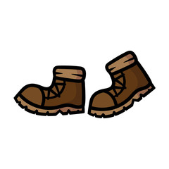 Cartoon Pair of Boots