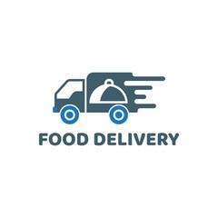 Food Delivery logo vector