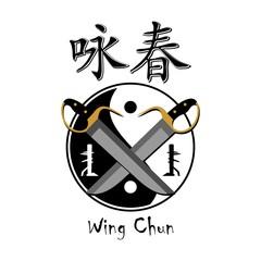 wing chun kung fu logo vectir