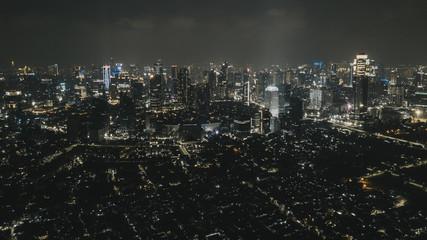 Jakarta, Indonesia, drone photograph