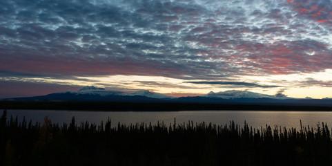 Willow Lake Overlook Wrangell St-Elias Southern Alaska
