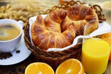 Croissant, Körbchen