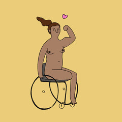 Wheelchair - I'm Feeling Strong