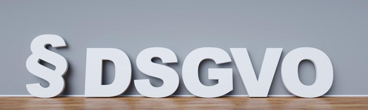 Datenschutz-Grundverordnung (DSGVO) Konzept