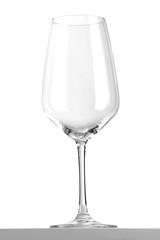 Weinglas freigestellt