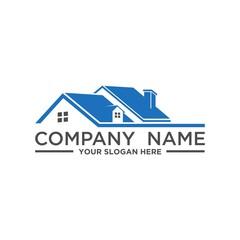 Real Estate and construction vector logo design template. House abstract concept icon.