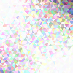 Gradient abstract triangular background with opacity effect